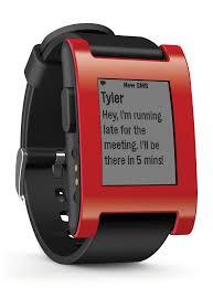 Pebble สุดยอด Smart watch ที่ใช้งานกับมือถือได้ทั้งระบบ Android และ IOS