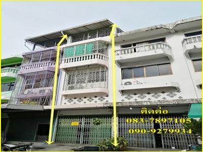 ขายอาคารพาณิชย์ 3ชั้น ตกแต่งสวย ซ.สะแกงาม35/2,ใกล้โลตัสพระราม2 กรุงเทพ