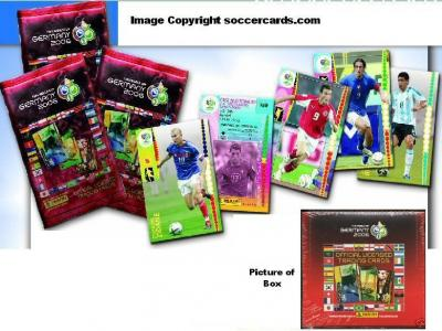 Official Panini World Cup 2006 Soccer Cards 100 PACKS!!