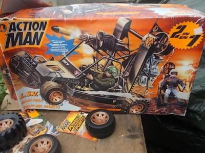 Action Man LSV All Terrain Vehicle - boxed