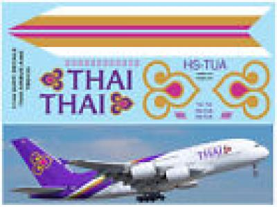 1/144 DECAL AIRBUS A 380 THAI AIRWAYS SUPPLEMENTARY DECALS FOR REVELL TBD153