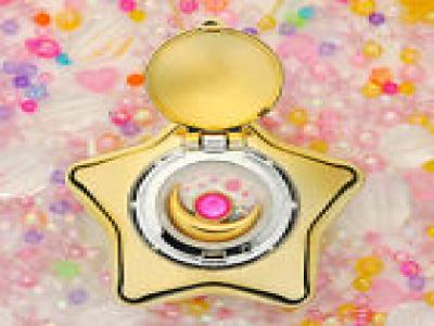 BANDAI NEW!! Sailor Moon Moonlight Memory Music Box Starry SKY Gold Star Locket