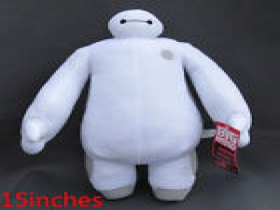 "2014 NEW DISNEY STORE BIG HERO 6 BAYMAX PLUSH 15""with tag free shipping"