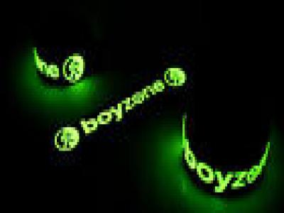 Boyzone NEW! Glow in the Dark Rubber Bracelet Wristband Ronan Keating vg273