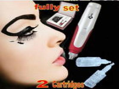 Auto Electric Derma Pen Stamp Micro Needle Cartridges Anti Aging Facial Beauty