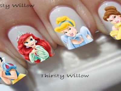 Disney Princess Youth Full Nail Wraps
