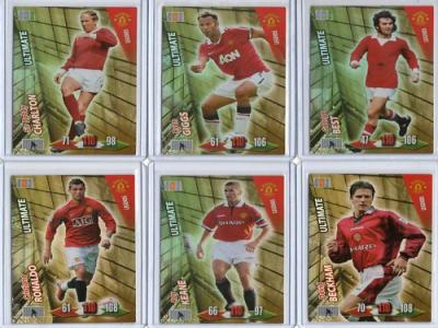 ADRENALYN XL 2011 MAN UTD ULTIMATE LEGENDS FULL SET