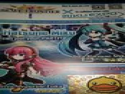 NEW YORK COMIC CON BRAVE FRONTIER MAGURINE LUKA 2014 EXCLUSIVE CODE VOCALOID