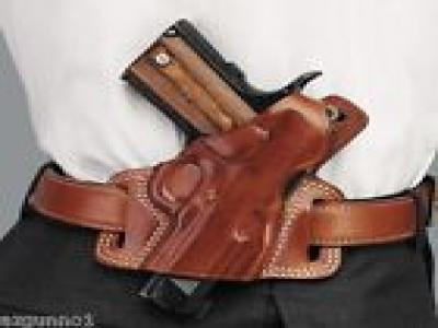 Galco SILHOUETTE Holster For 1911 5 inch, Right Hand Tan, Part # SIL212