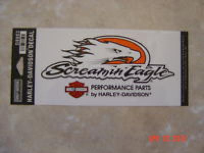 "Harley Davidson Medium ""Screamin Eagle"" Outside Decal"