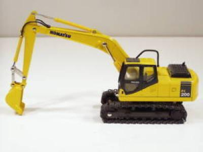 Komatsu PC200-7 Excavator - 1/43 - Goodswave - MIB