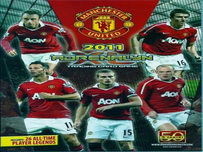 ADRENALYN XL 2011 MAN UTD FULL BASE SET (80) IN BINDER