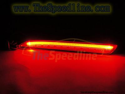10 11 12 13 MAZDA 3 4D 5D OEM RED LED STRIP REFLECTORS LIGHTS Bumper Lamp MPS