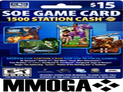 Planetside 2 - 1500 Station Cash Card - SOE Universal Game Card Key