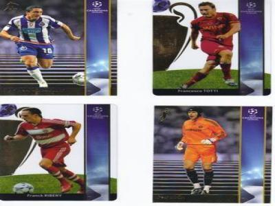 2008-09 Panin Premium Champions League Set 235 Cards
