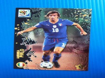 2010 Panini Premium World Cup Andrea Pirlo Insert Card