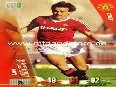 Adrenalyn XL Man. United - Lou Macari - Legends