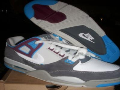 Nike Air Flight Condor 344575 012 WT/GR/BL/BR R:$88 New