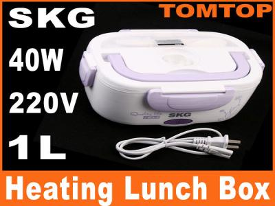 SKG Electric Heating Lunch Box Case Quick-heating with Handle 40W 220V
