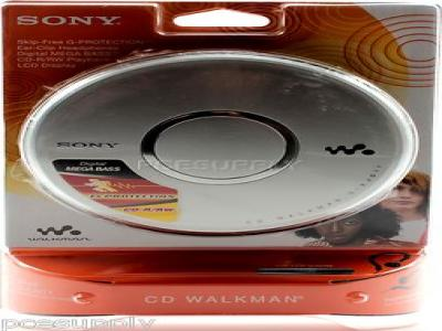 Sony D-EJ017CK CD Walkman Player G-Protection Works Good Car Ready 2