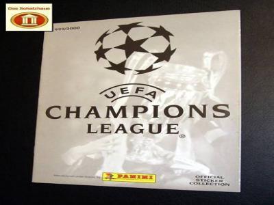 Champions League 1999 Leeralbum Panini