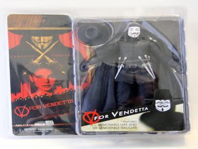 """V for VENDETTA 7"""" Action Figure NECA"""
