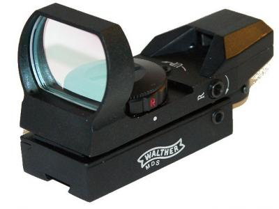 Walther Tactical 4 Reticle 1X23X34 Red/Green Dot Collimator Sight Scope 11mm