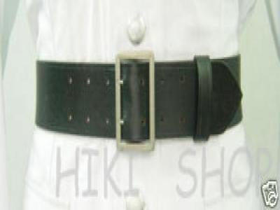 WW2 German officer double claw Belt Rero black 130CM