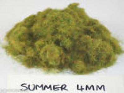 WWS Summer Mix Static Grass 4mm, Railway, Wargame and Diorama Select Weight
