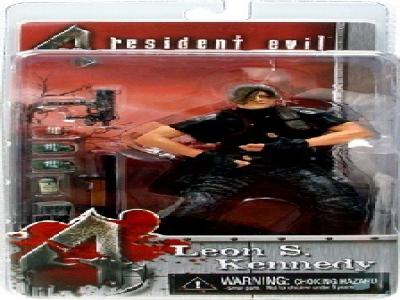 RESIDENT EVIL 4 NECA LEON S. KENNEDY NO JACKET FIGURE